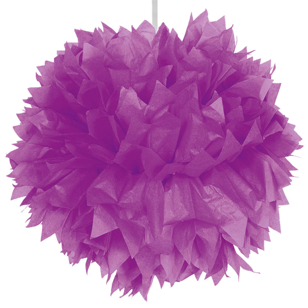 Paarse Pompom