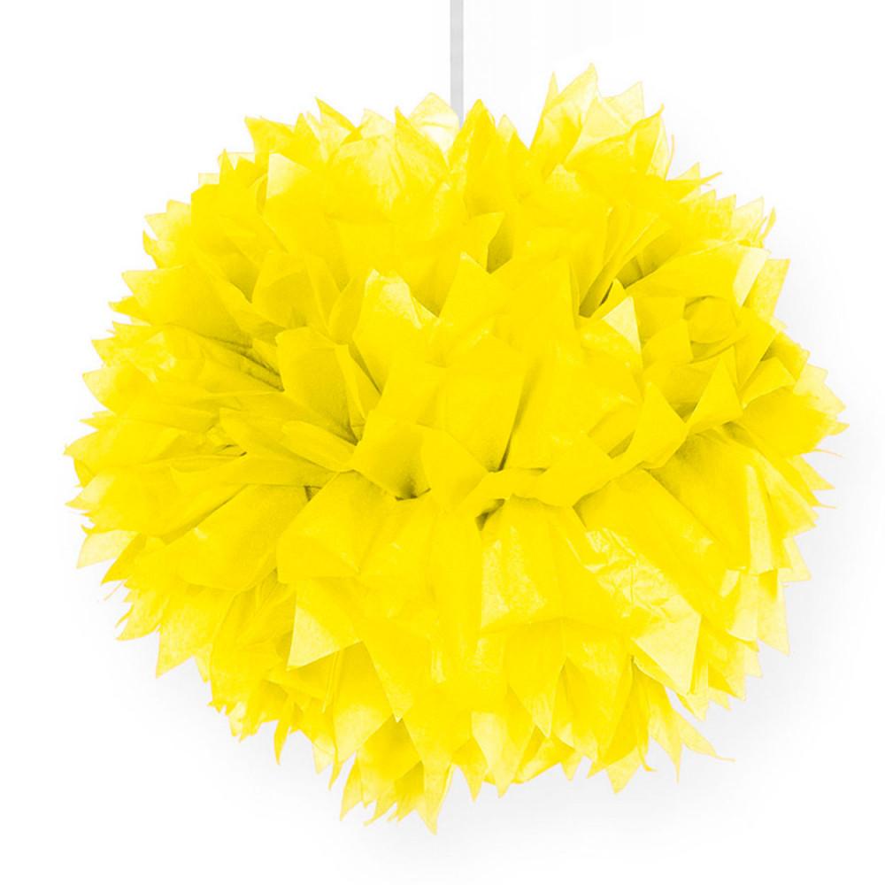 Gele Pompom