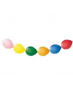 Gekleurde Knoopballonnen, 8st.