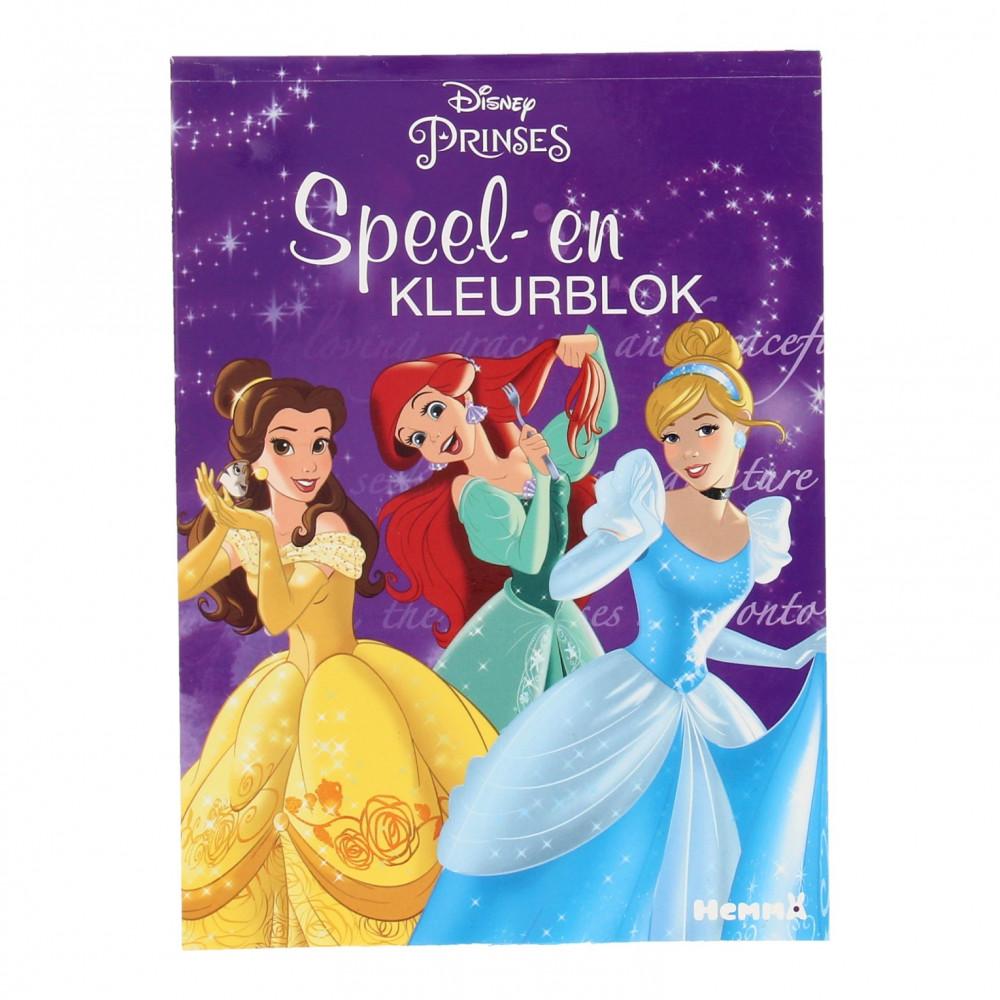 Disney Prinses Spelletjesboek