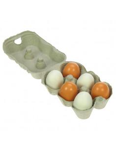 Houten Doosje met Eieren