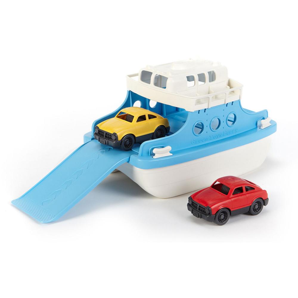 Green Toys Veerboot met Auto's