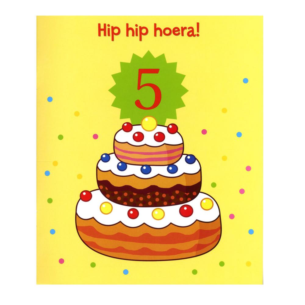 Verjaardag 5 Jaar