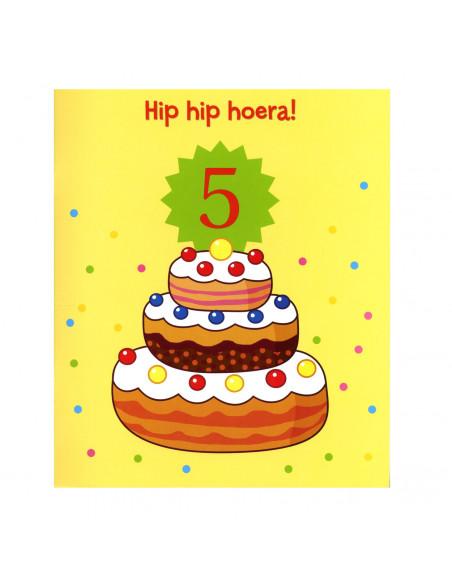 Hip Hip Hoera! Jij Bent 5 Jaar!