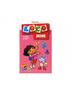 Mini Loco - Rekenen met Dora - Getallen tot 10 (6-7)