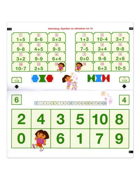Mini Loco - Rekenen met Dora - Getallen tot 20 (6-7)