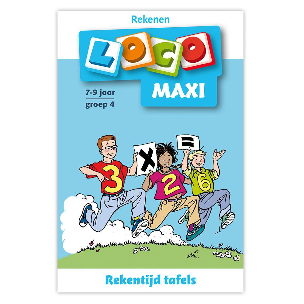 Maxi Loco - Rekentijd, tafels groep 4 (7-9)