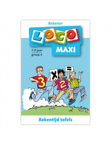 Maxi Loco - Rekentijd, tafels groep 4...