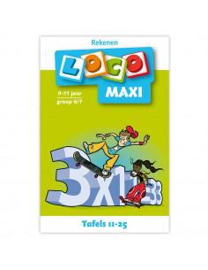 Maxi Loco - Tafels 11 - 25 (9-11)