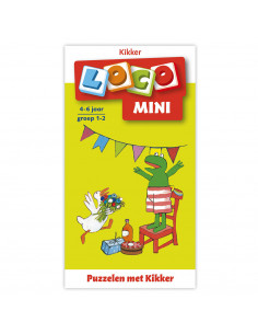 Mini Loco - Puzzelen met Kikker (4-6)