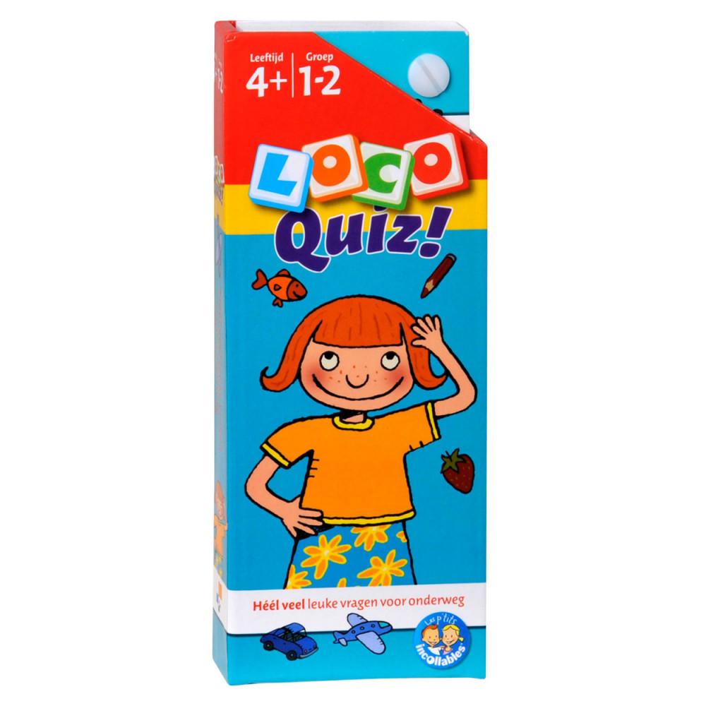 Loco Quiz Leeftijd 4+ Groep 1-2