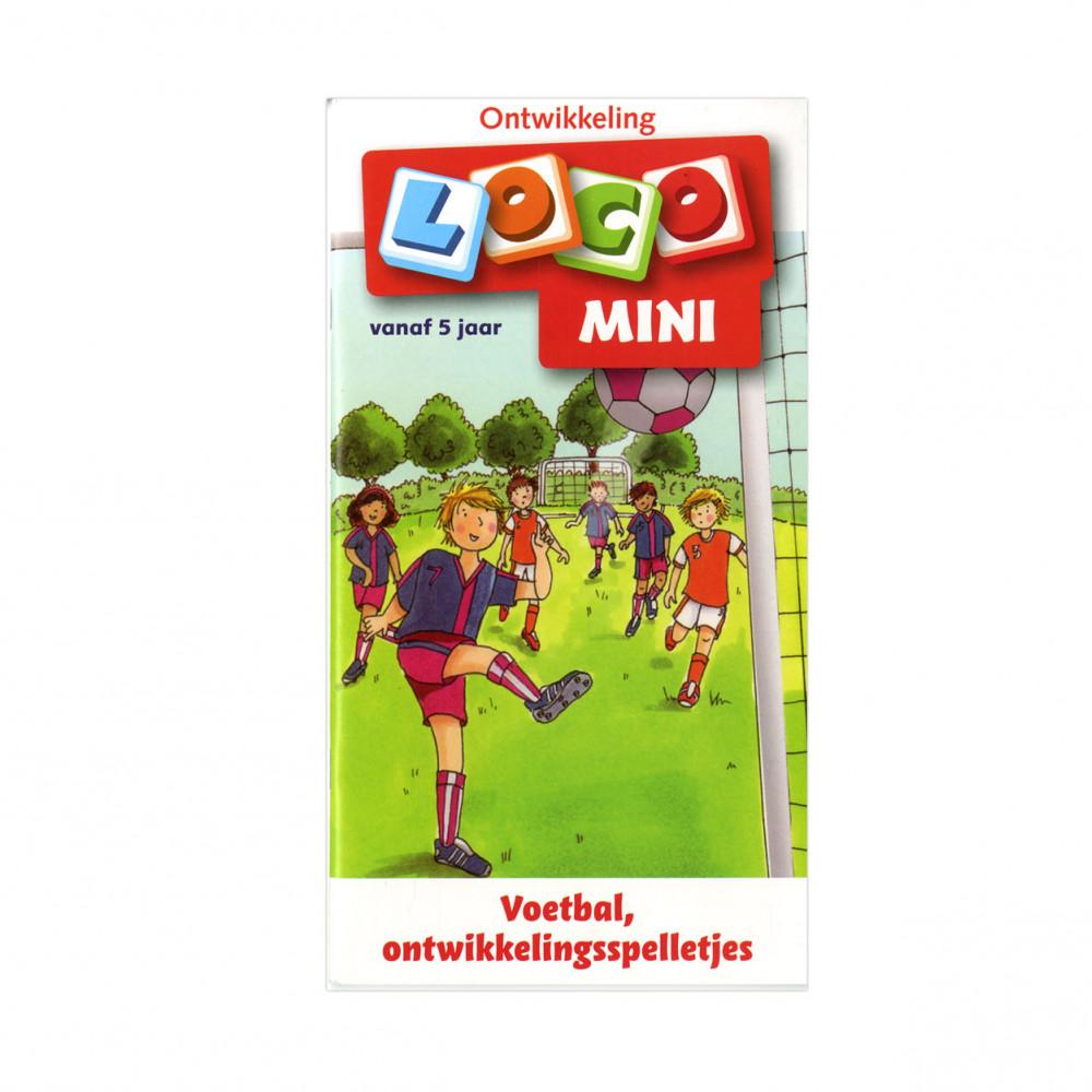 Mini Loco - Voetbal, ontwikkelingsspelletjes (5+)