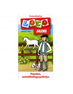 Mini Loco - Paarden, Ontwikkelingsspelletjes (5+)