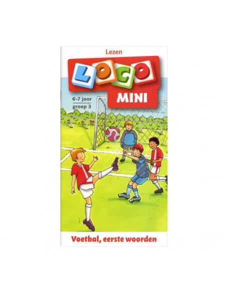 Mini Loco - Voetbal, eerste woorden (6-7)