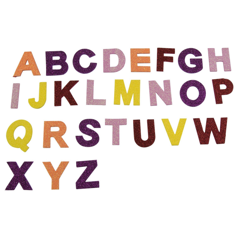 Knutsel Stickers Letters, 130st.