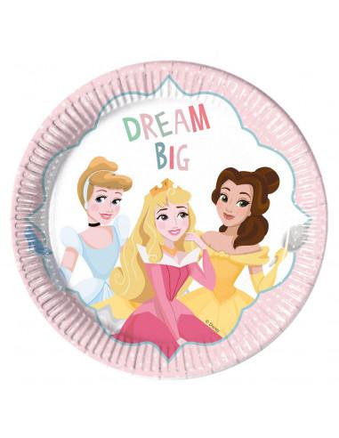 Bordjes Disney Prinses, 8st.