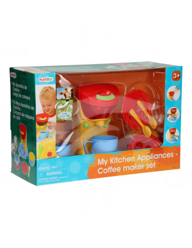 Playgo Koffiezetapparaat met Accessoires