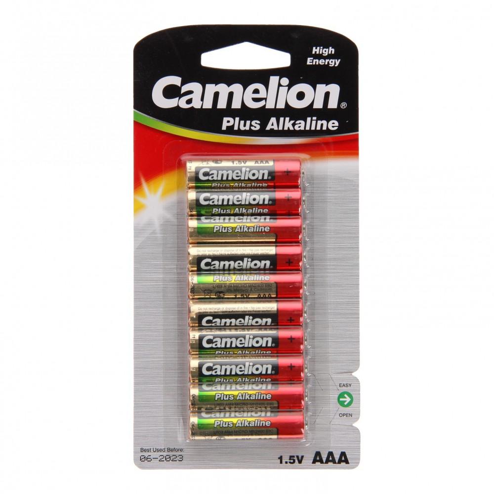 Camelion Plus Batterij Alkaline AAA/LR03, 10st.