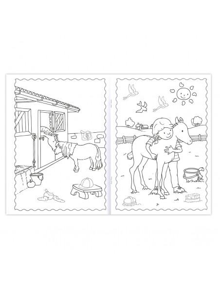 De Leukste Paarden en Pony's Plakken en Kleuren