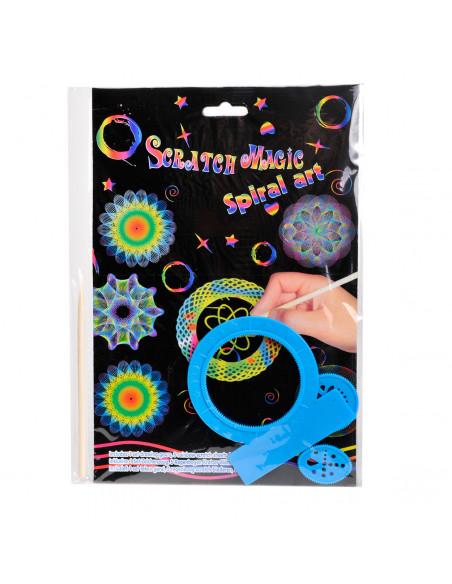 Scratch Set met Spiralen