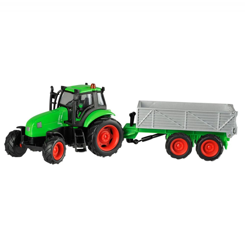Tractor met Aanhanger Licht en Geluid