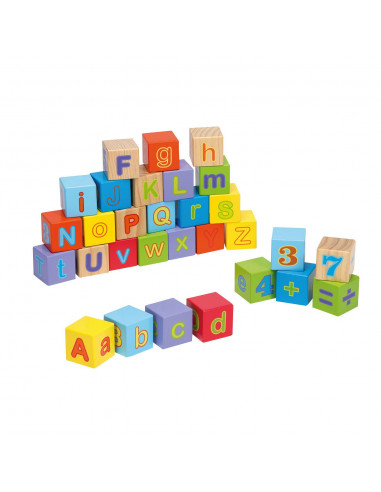 Joueco Alfabet Blokken, 30dlg.