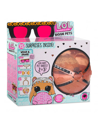 L.O.L. Surprise Biggie Pet - Hamster