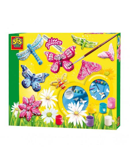 SES Vlinders Gieten en Schilderen