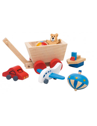 Goki houten Poppenhuis accessoires -...