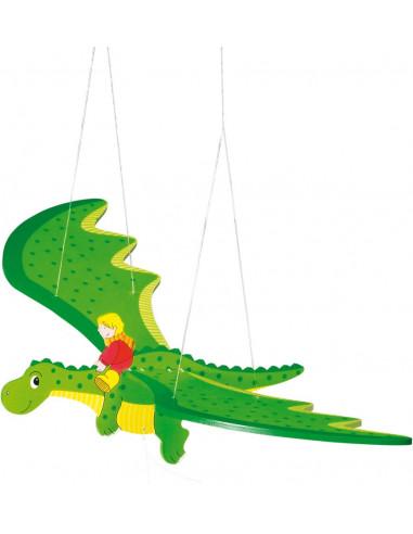 Goki houten Swingende Draak
