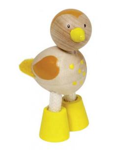 Goki houten flexibele dieren - Vogel