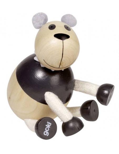Goki houten Flexibele dieren - Panda