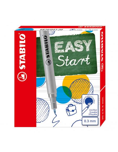 STABILO EASYoriginal 20 Navullingen Fine - Blauw