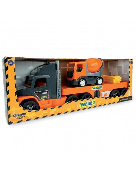 Wader Vrachtwagen Oplader met Betonwagen