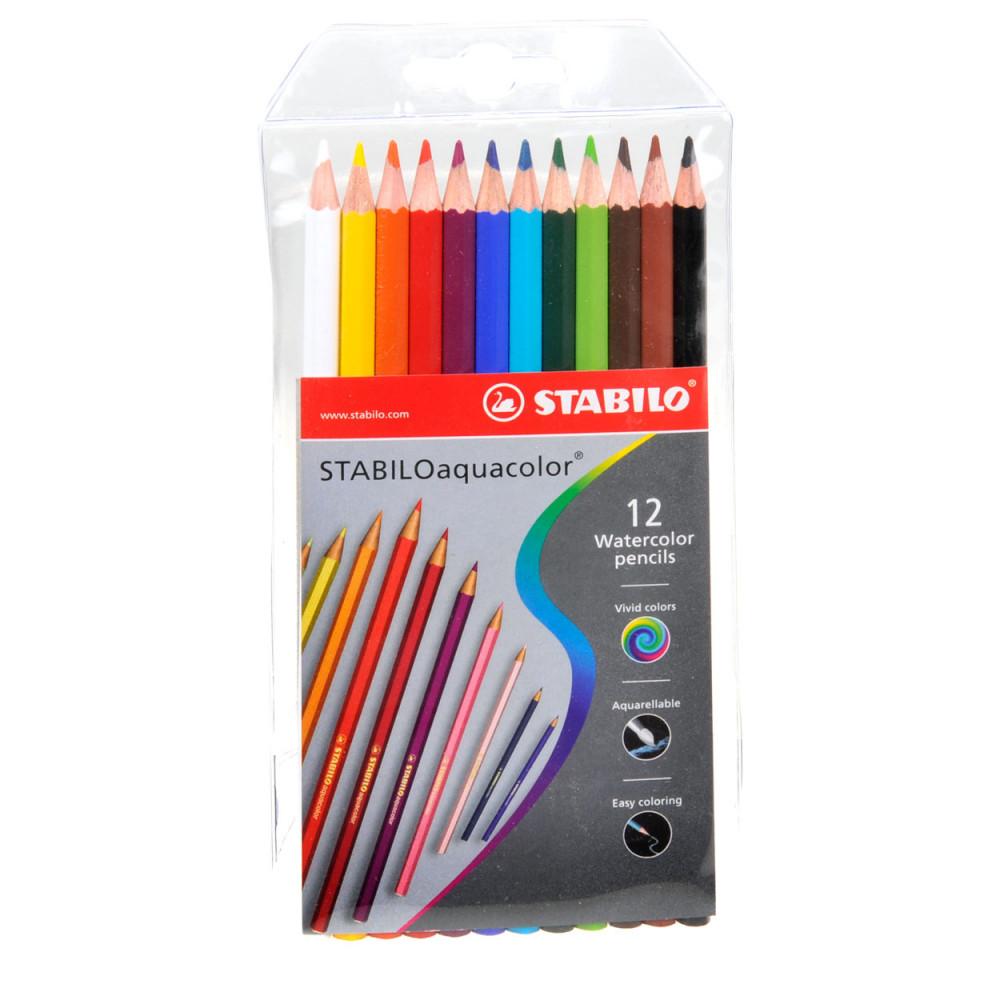 STABILO Aquacolor - 12 Kleuren BT