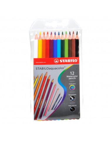 STABILO Aquacolor - 12 Kleuren