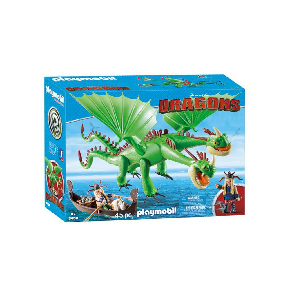 Playmobil 9458 Morrie & Schorrie met Burp & Braak