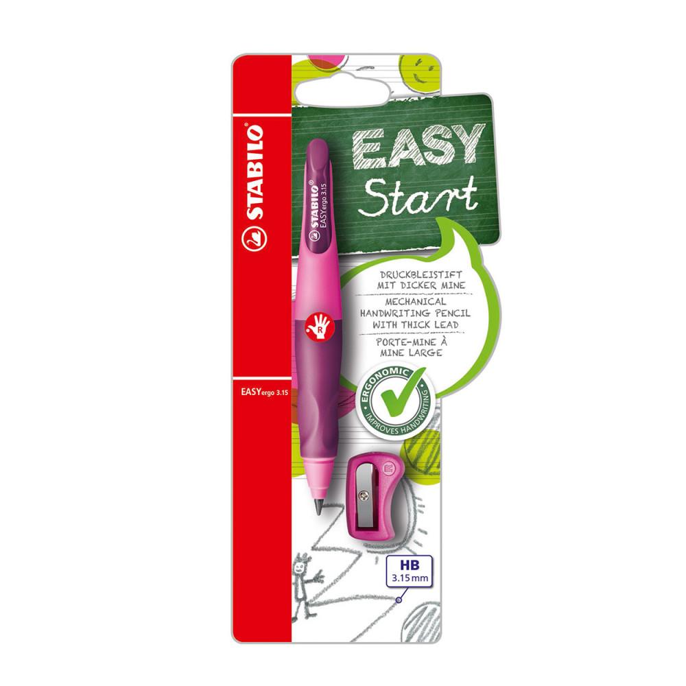 STABILO EASYergo 3.15 Rechtshandig - Roze