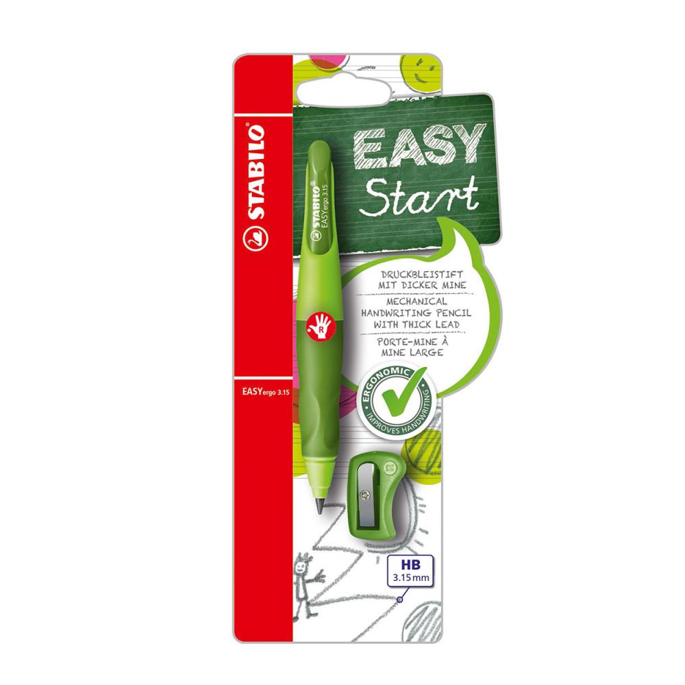 STABILO EASYergo 3.15 Rechtshandig - Groen