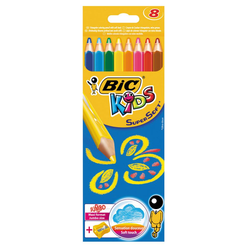 BIC Kids Supersoft, 8st.