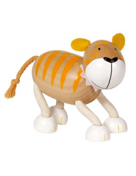 Goki houten Flexibele dieren - Tijger