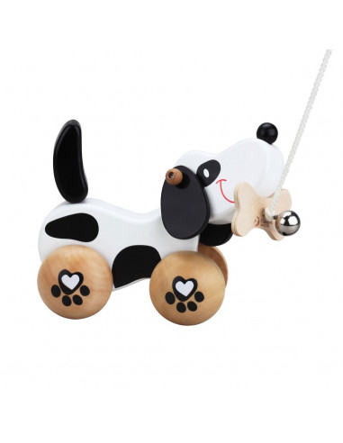 Classic World Houten Trekdier Hond