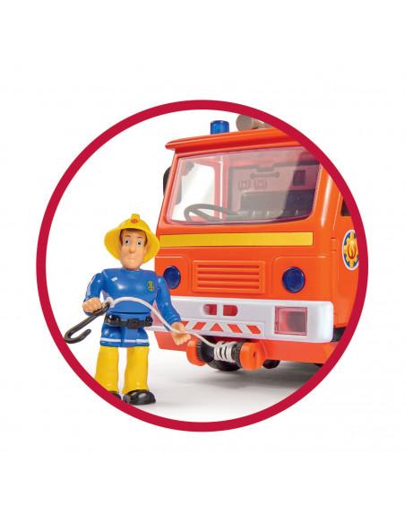 Brandweerman Sam Jupiter 2.0 met Speelfiguren