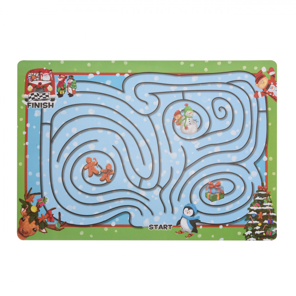 Knutsel Placemat Kerst