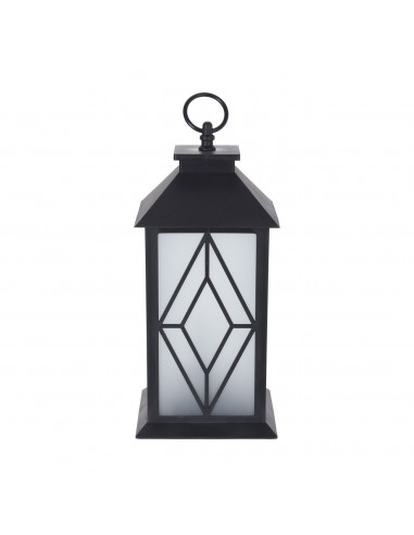 Lantaarn met LED Verlichting Ruit BT
