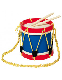 Goki houten Trommel - Marching Drum