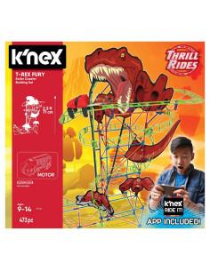 K'Nex T-Rex Fury Rollercoaster Bouwset, 473dlg.