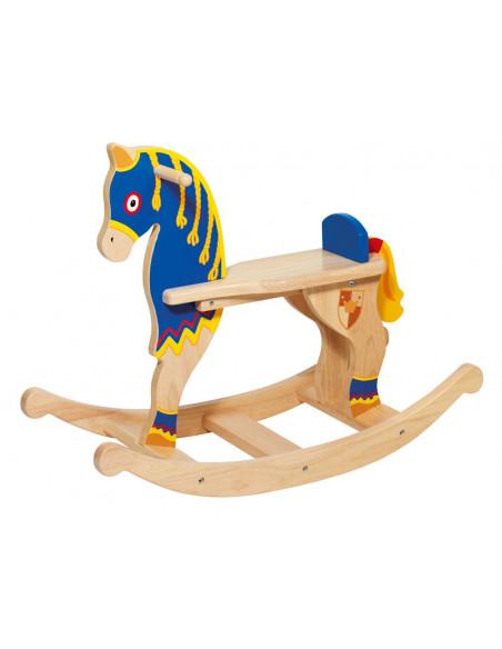 Goki houten Hobbelpaard - Ridder