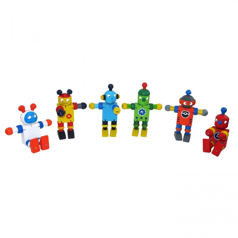 Houten Flexibele Robot