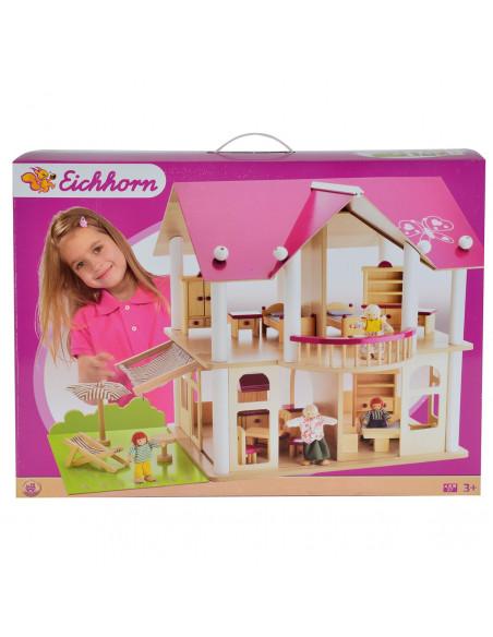 Eichhorn Roze Poppenhuis